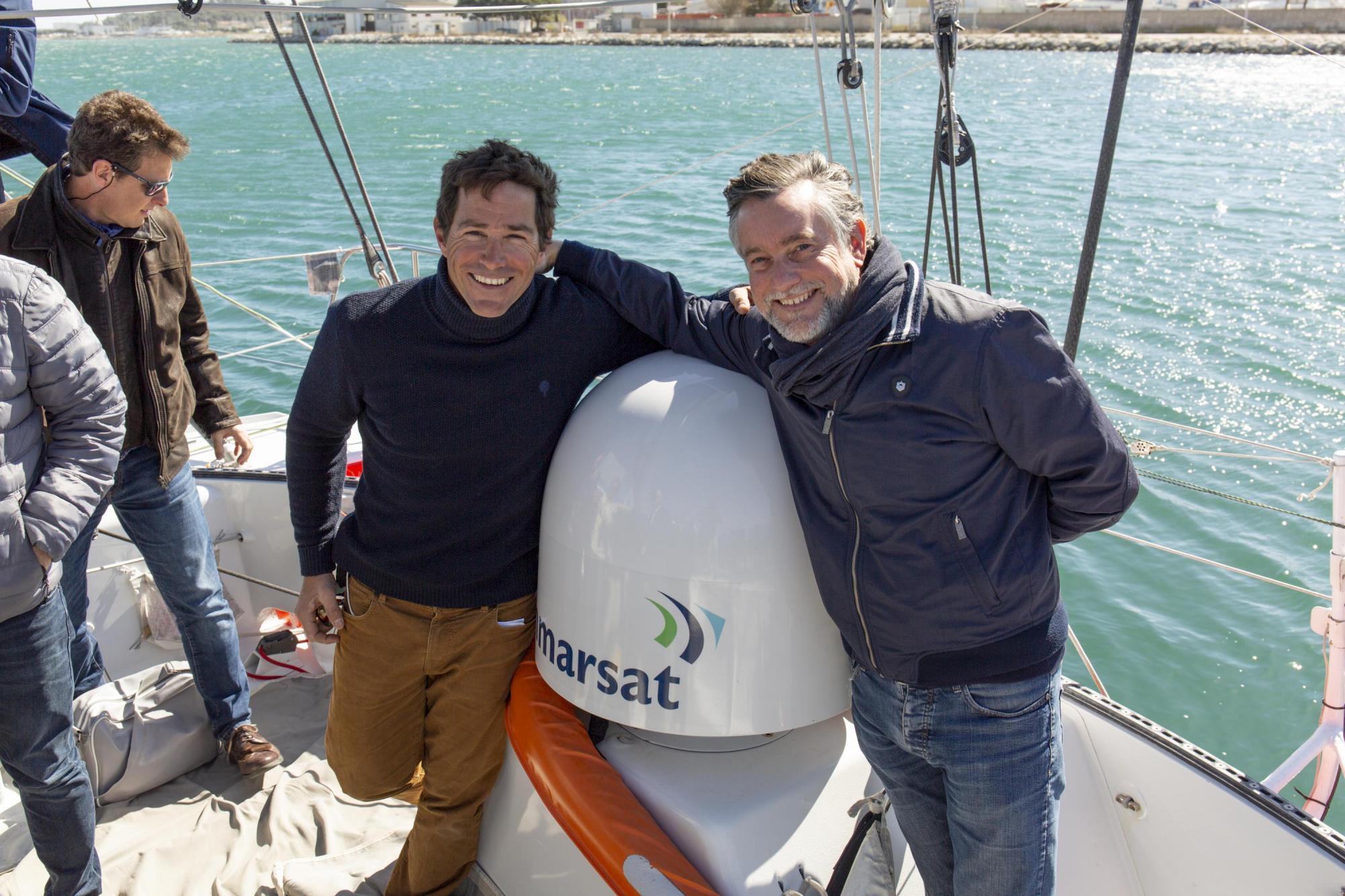 Clément Giraud et partenaire Advanced Tracking - Inmarsat