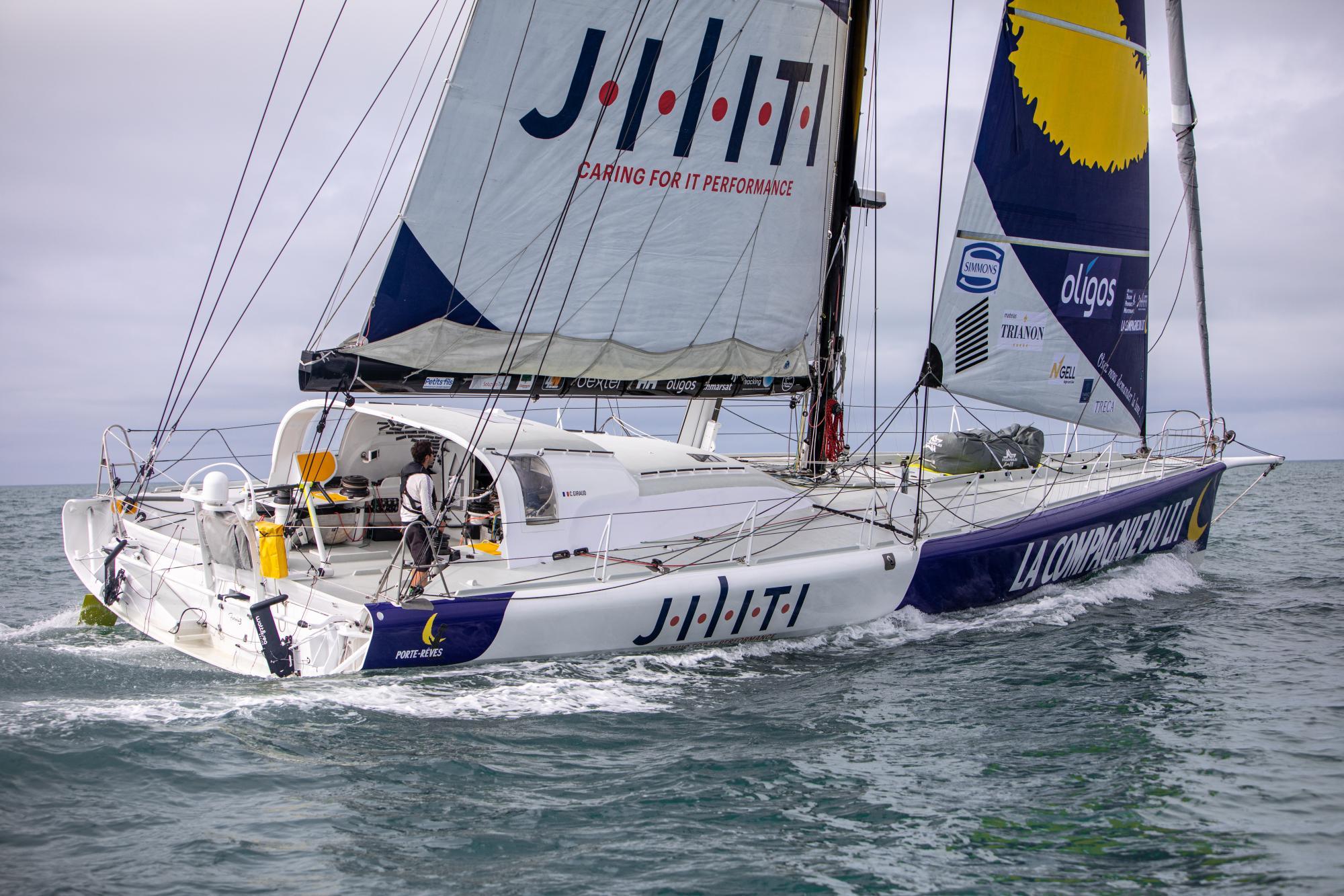 IMOCA Compagnie du Lit / Jiliti - Clément Giraud © Vincent Olivaud
