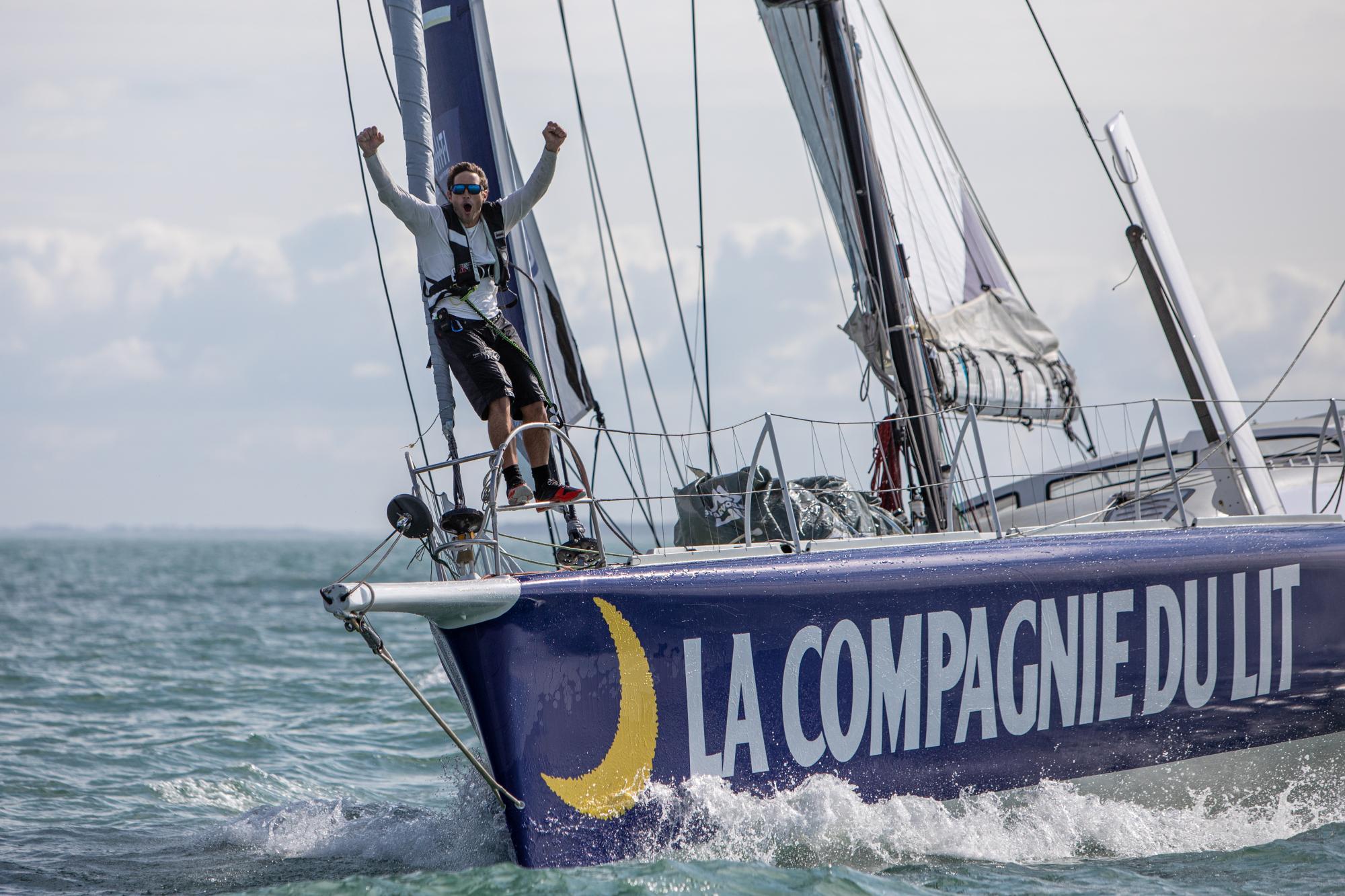IMOCA Compagnie du Lit / Jiliti - Skipper Clément Giraud